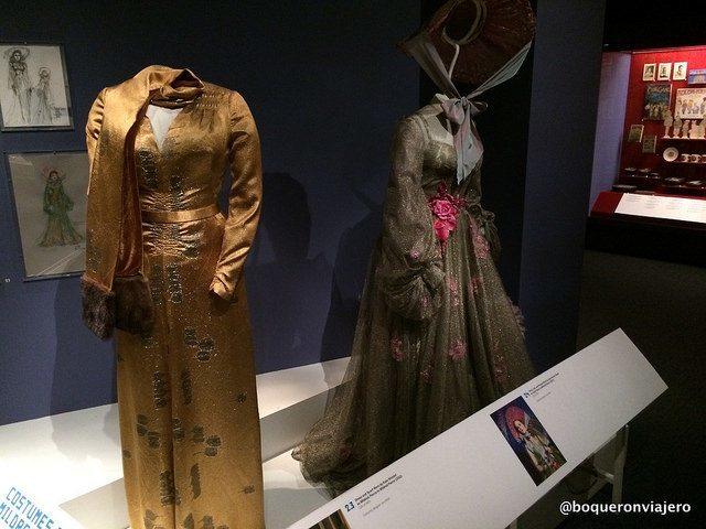 Trajes de películas en el Museo de la Imagen en Movimiento de Queens