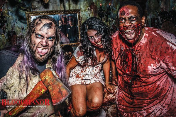 Blood Manor en Nueva York