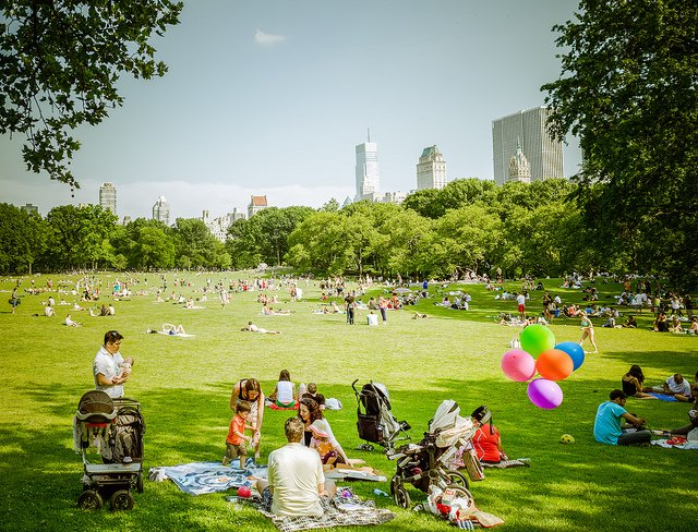 Niños en Central Park