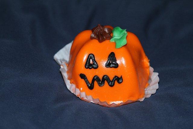 Pastel de calabaza para Halloween