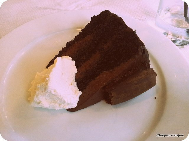 Tarta de Chocolate Blockout de Brooklyn Diner Central Park