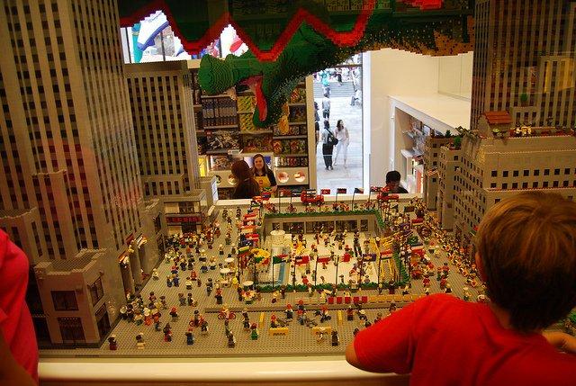 Tienda Lego en Nueva York