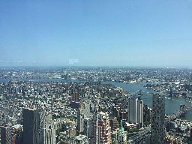 Vistas de Nueva York desde el One World Observatory