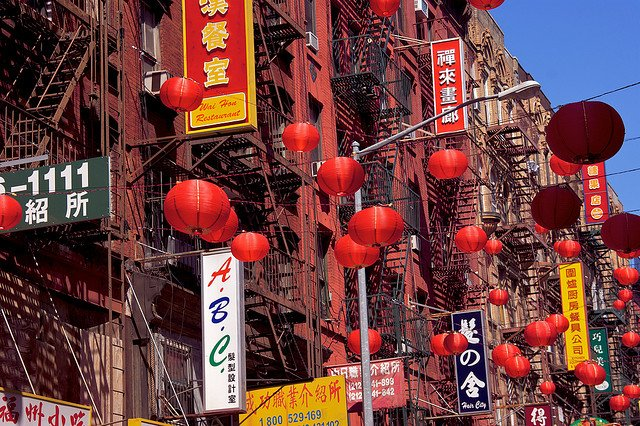 Compras en Chinatown