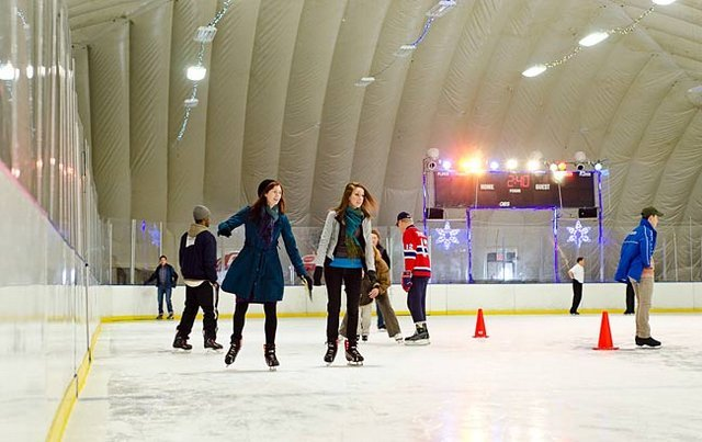 City Ice Pavilion en Long Island