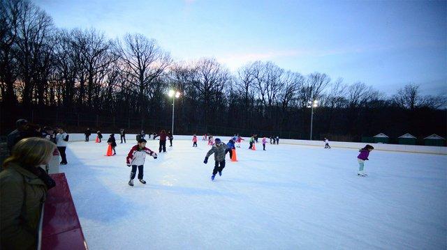 Pista de patinaje en Staten Island