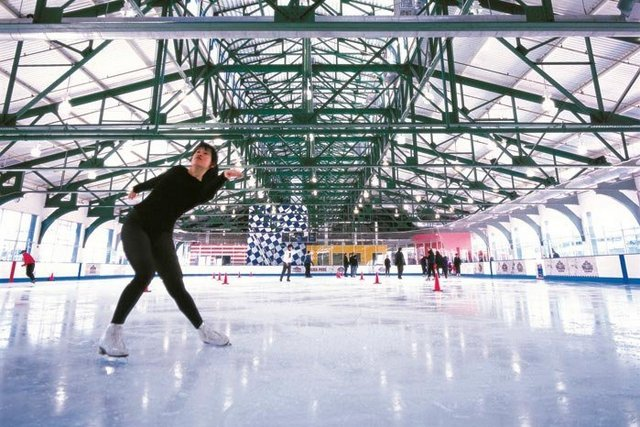 Pista de patinaje de Chelsea Piers