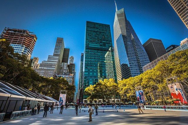 Pistas de patinaje en Nueva York