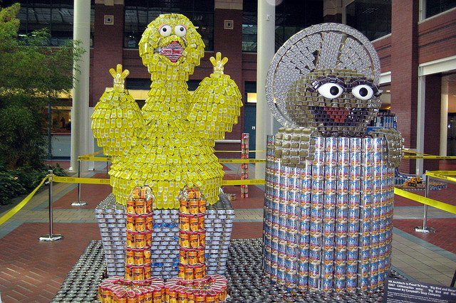 Canstruction en Nueva York