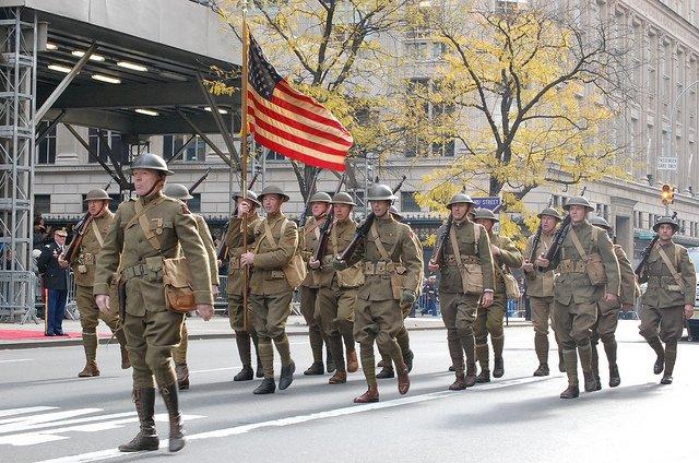 Desfile de Veteranos Nueva York