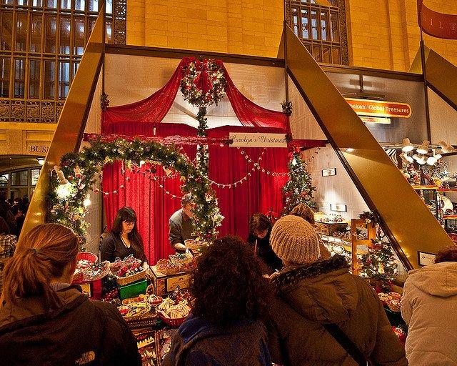 Mercadillos de Navidad en Nueva York