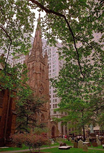 Trinity Chruch en Nueva York