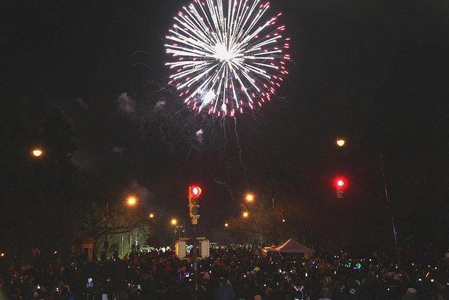 Año Nuevo en Prospect Park