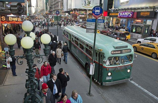 Autobús de la Nostalgia en Nueva York