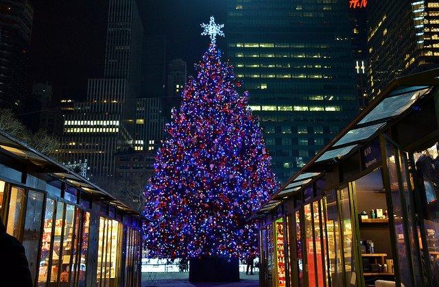 Bryant Park en Navidad