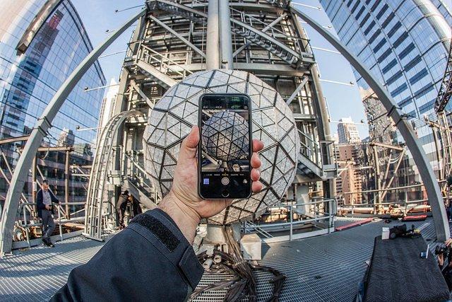 Caída de la bola de Año Nuevo en Nueva York