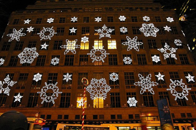 Luces de Saks Fifth Avenue