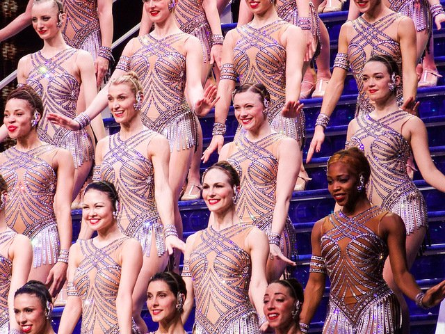 Radio City Music Hall y las Rockettes