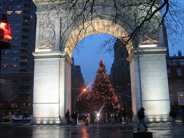 Villancicos Nochebuena en Washington Square Park