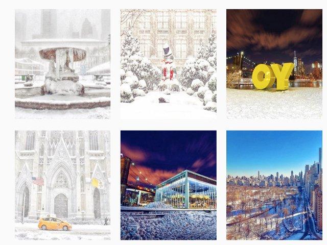 Photos de NYC de la cuenta de Instagram de @gigi.nyc
