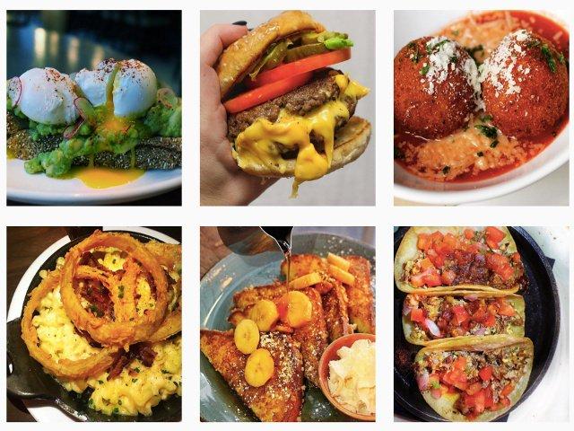 Instagram de @onehungryjew sobre la comida en NYC