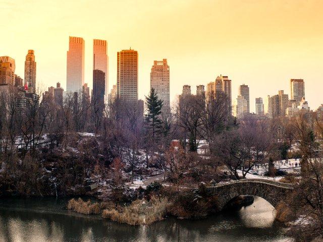 Central Park se pone precioso en febrero