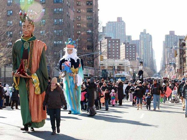 Desfile de los Reyes Magos en Harlem