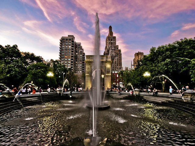 Washington Square Park, West Village, Nueva York