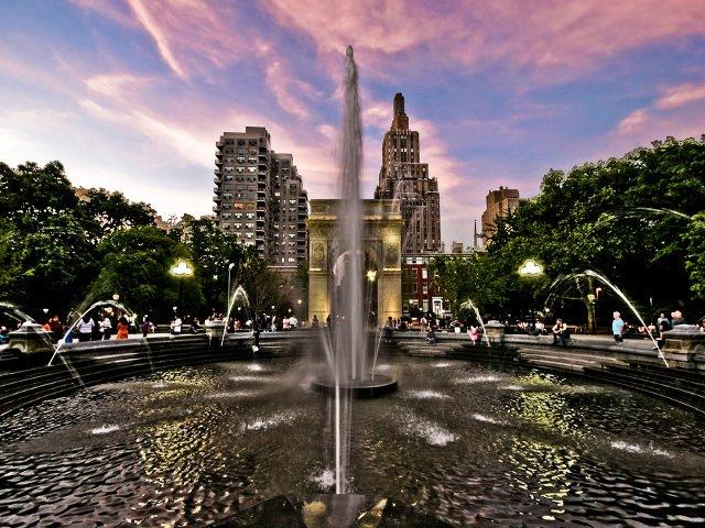Washington Square Park, West Village, Nueva York