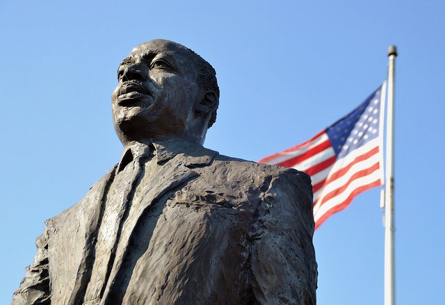 Estatua de Martin Luther King