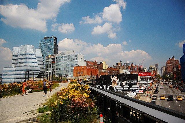 Highline Park en Chelsea