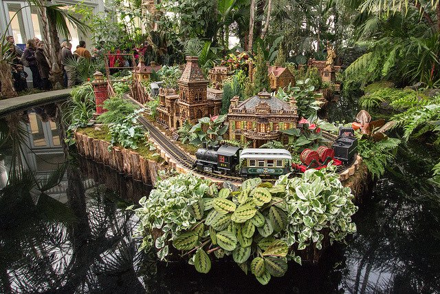 Holiday Train Show en Nueva YorkHoliday Train Show en Nueva York