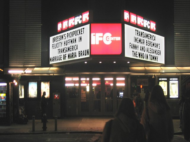 IFC Center en West Village, Nueva York