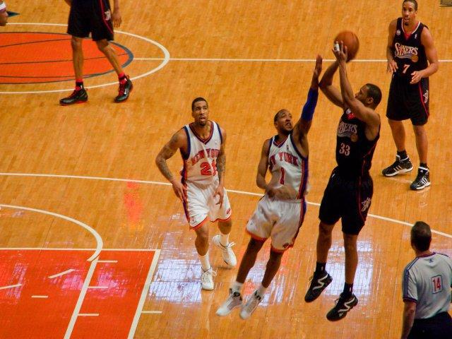 Ve a ver a los Knick durante febrero en Nueva York