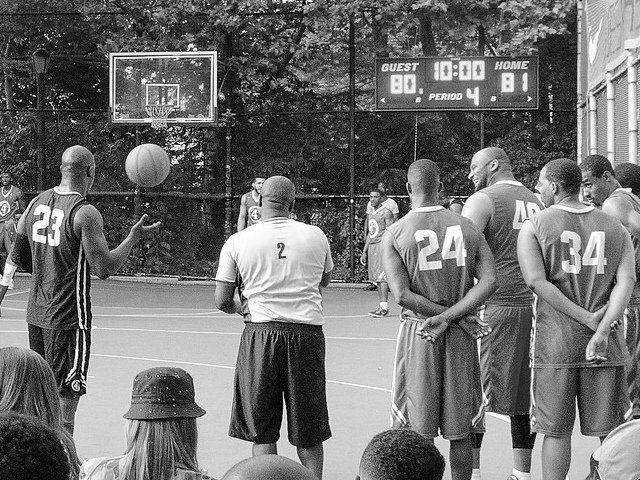 Pistas de baloncesto de West Village Nueva York