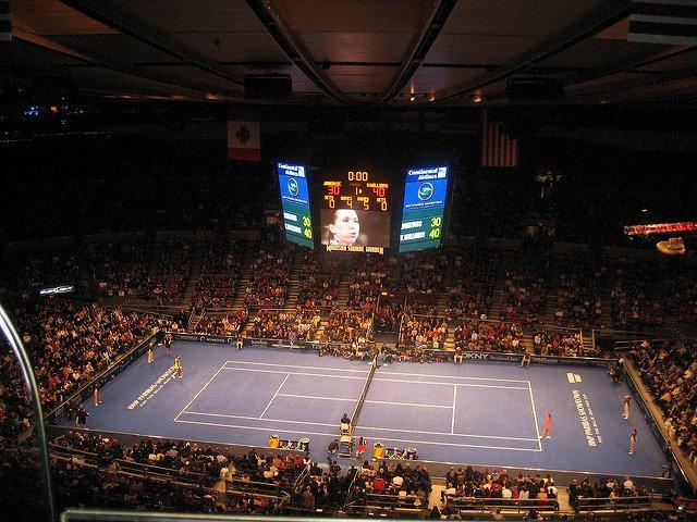 El Tennis Showdown es un clásico de tenis que se puede disfrutar en Nueva York en marzo