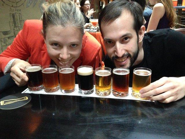 Esta semana en Nueva York es la semana de la cerveza: una oportunidad de probar varios tipos de cerveza artesanal y aprender sobre ella.