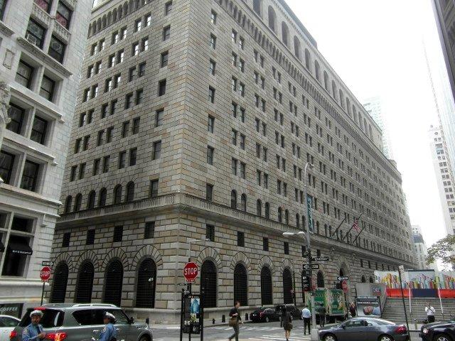Una visita al Federal Reserve es otro de los planes baratos en Nueva York.