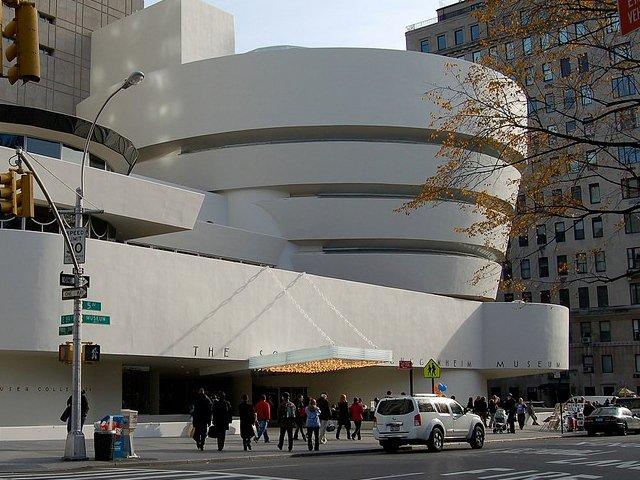 Los sábados por la tarde un plan barato en Nueva York es ir al Guggenheim Museum.