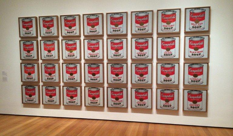 La obra de Andy Warhol en el MoMA
