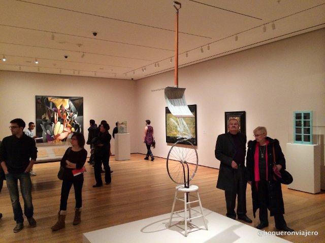 Otro de los planes baratos en Nueva York es ir al MoMA los viernes por la tarde.