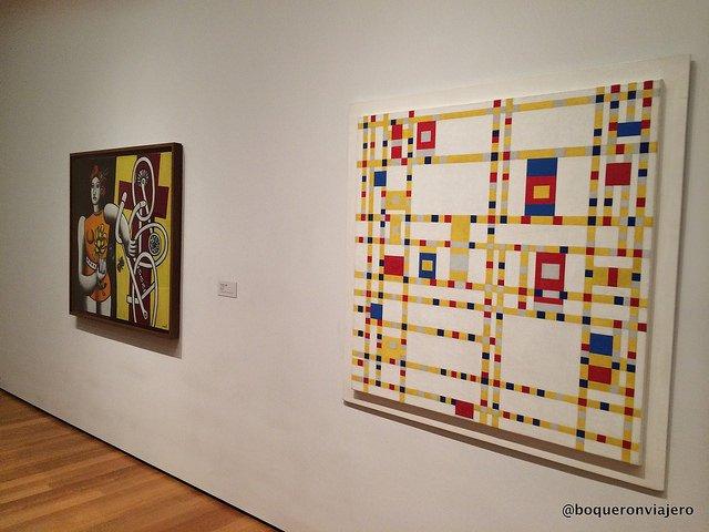 Obras en el MoMA en Nueva York