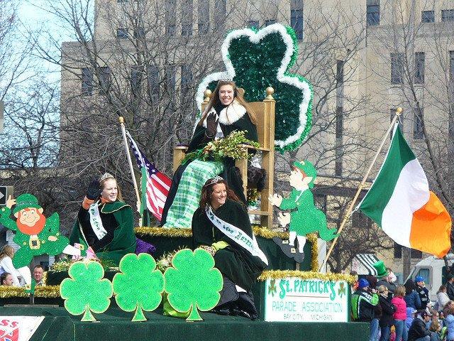 Desfile de Queens del día de San Patricio en Nueva York