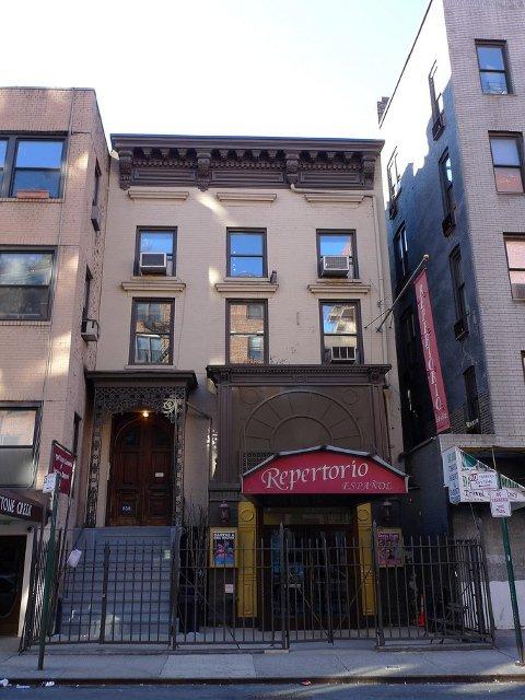 El Repertorio Español es un teatro donde puedes ver espectaculos en castellano en el barrio de Gramercy en Nueva York