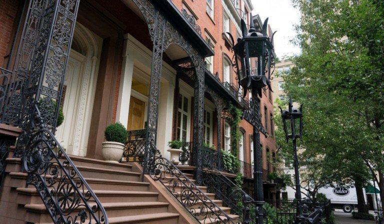 El barrio de Gramercy es una zona residencial muy bonita.