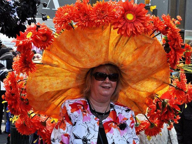 El desfile de sombreros en Semana Santa en Nueva York