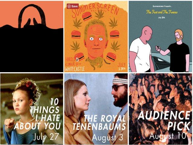 Esta semana en Nueva York cine de verano en Williamsburg