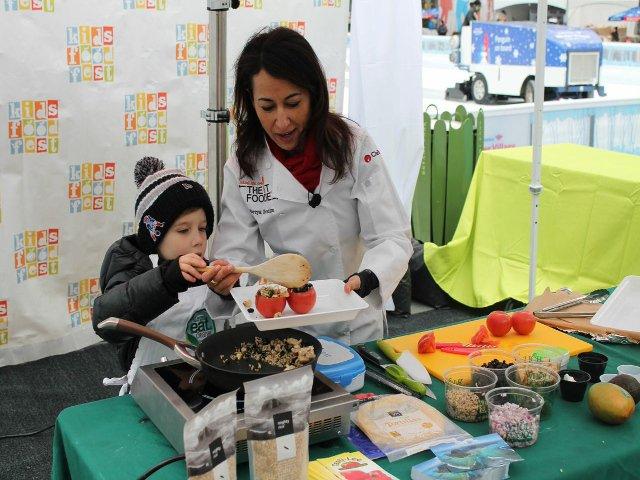 Esta semana en Nueva York se celebra el Kids Food Fest en Bryant Park