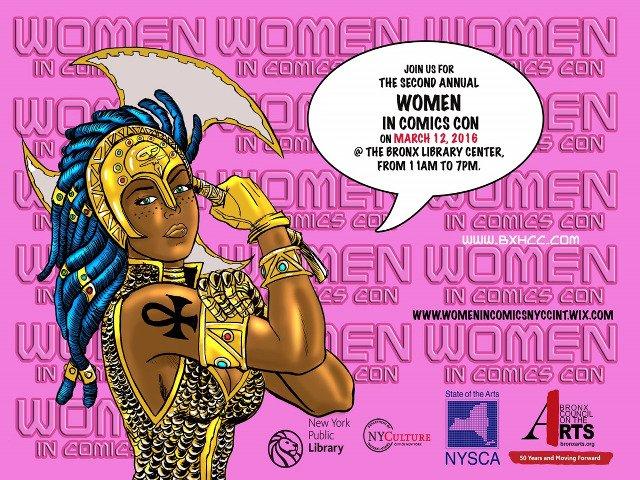 Esta semana en Nueva York se puede asistir al Women in Comics Convention en el Bronx