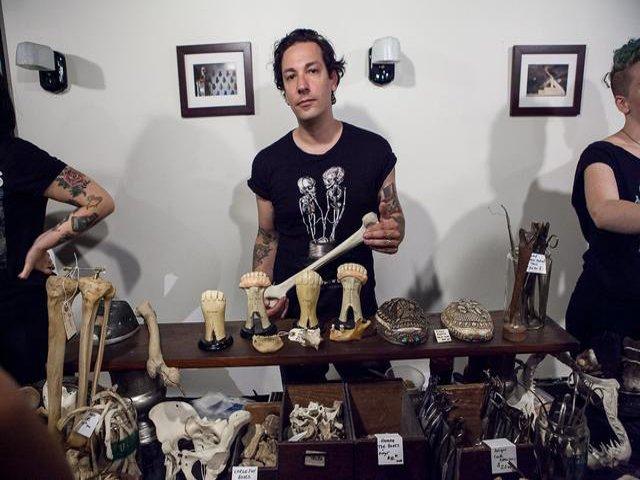 Esta semana en Nueva York se puede ir al rastrillo del Museo de Antaomía Macabra.